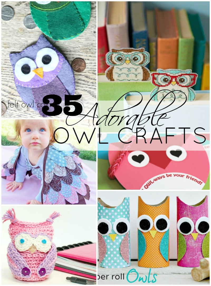 35 owl projects