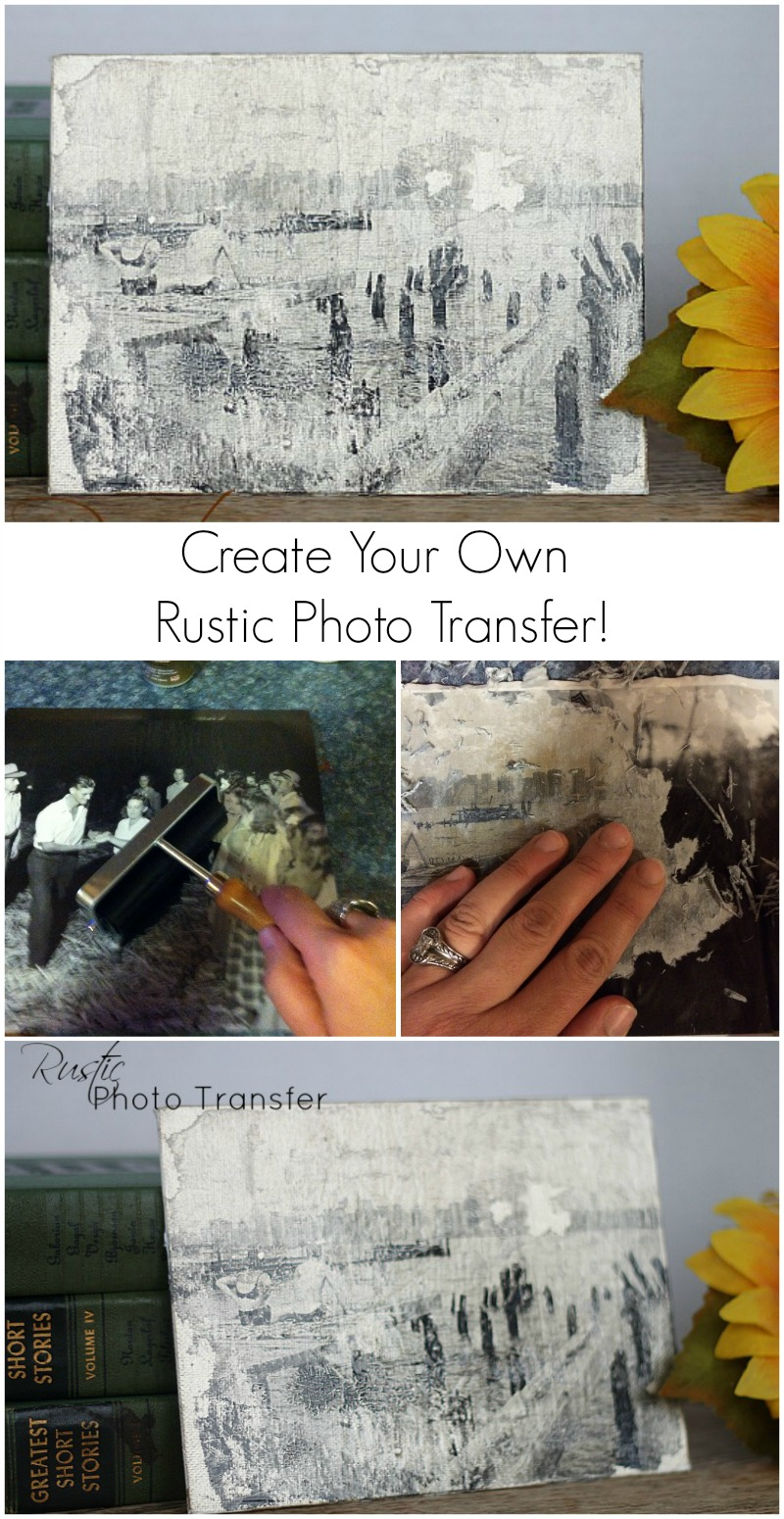 Rustic Photo Transfer--How To