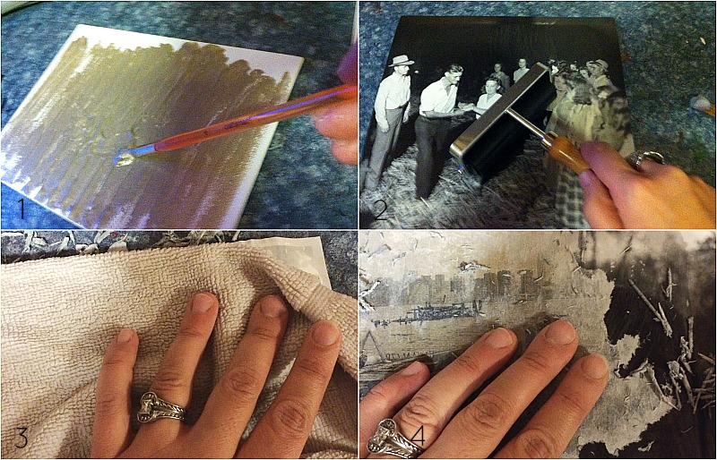 rustic photo transfer tutorial