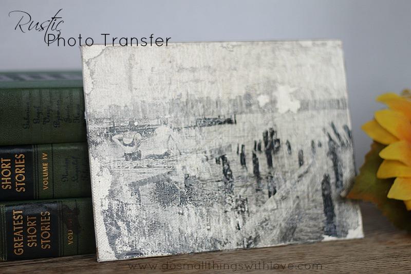 rustic photo transfer2