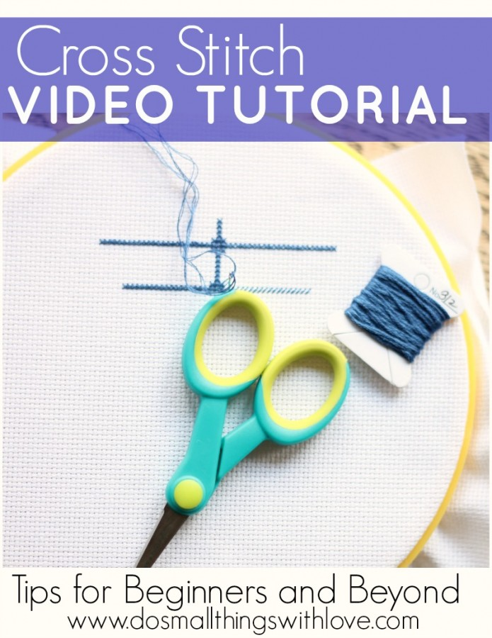 Cross Stitch Video Tutorials