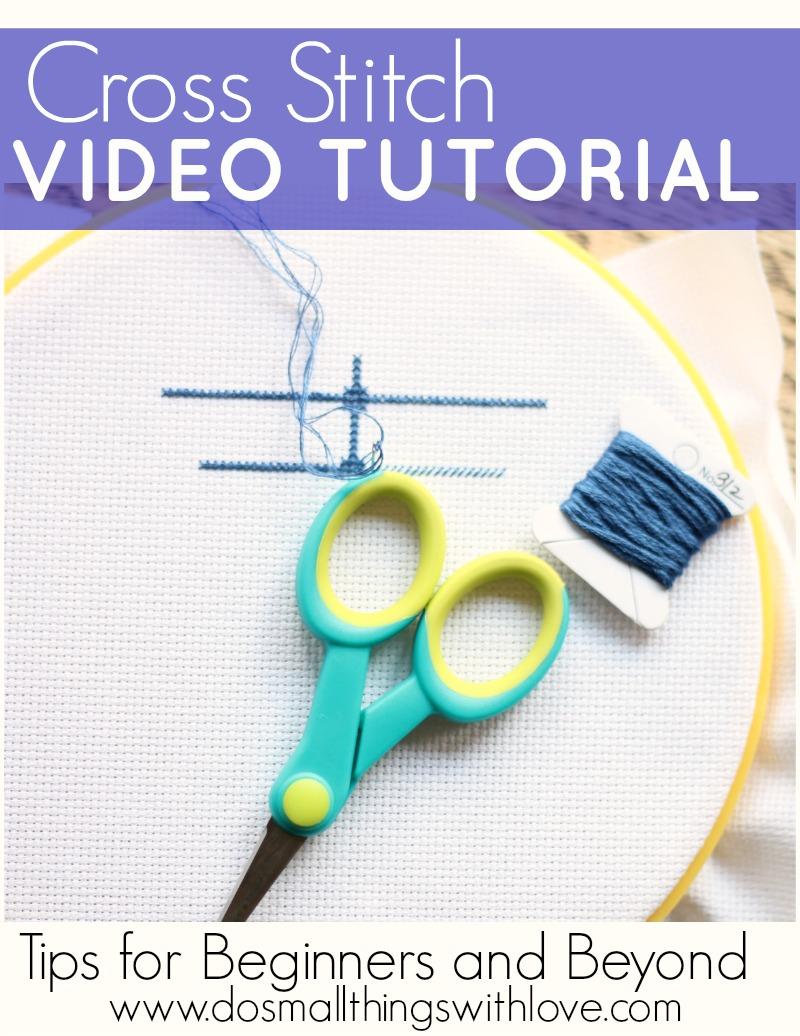 Cross Stitch Video Tutorial