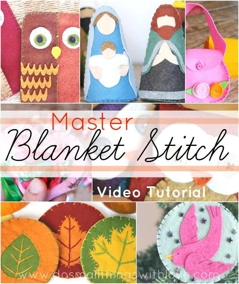 Master Blanket Stitch with this video tutorial