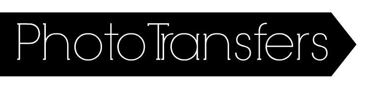 Photo Transfer Header
