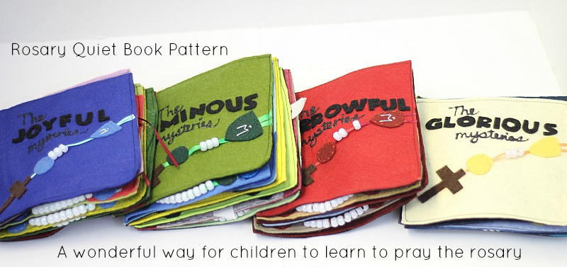 Rosary Quiet Book Pattern