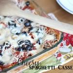 cheese spaghetti casserole recipe