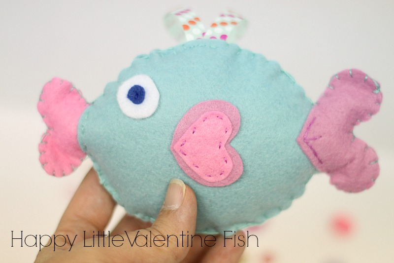 valentine fish project