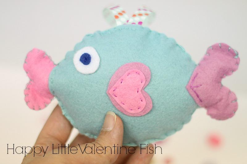 valentine fish project