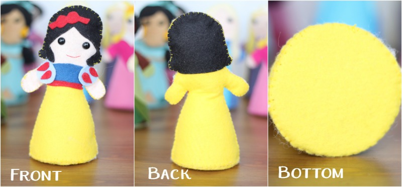 Storybook Princess Doll All Sides