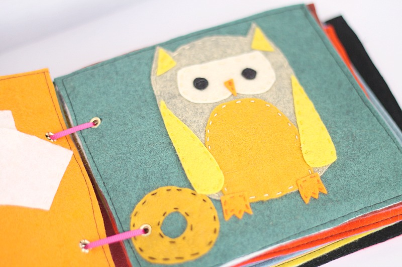 o is for owl in book