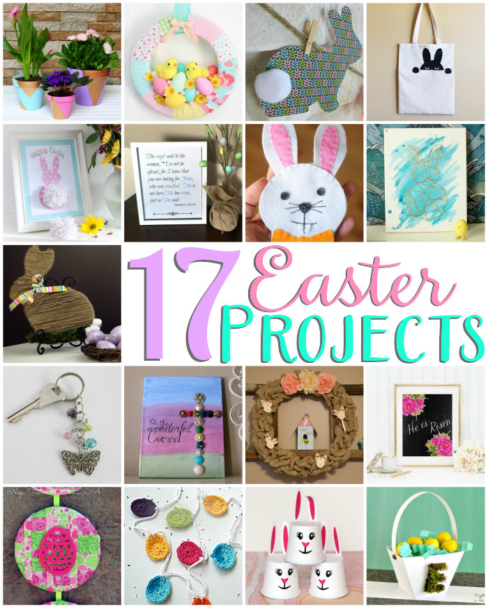 17 crafty ideas for Easter