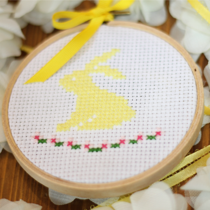 Spring Bunny Cross Stitch Pattern Do Small Things With Great Love