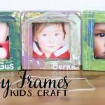 messy frames--crafts for kids