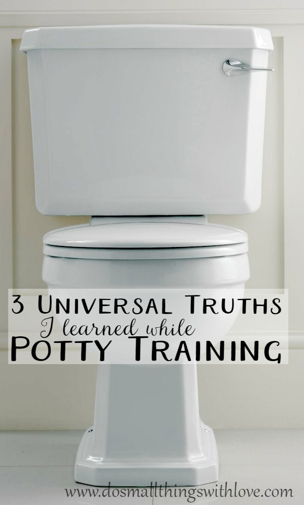 3 universal truths I learned while potty training my daughter
