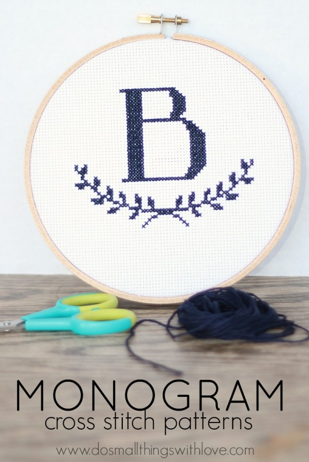 monogram-cross-stitch-patterns