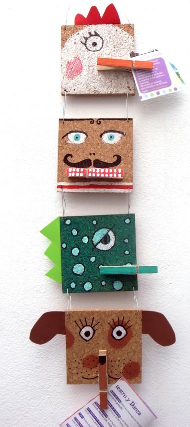 pinzas Clothespins Wäscheklammern maualdidad craft kids kinder basteln manualidad niños