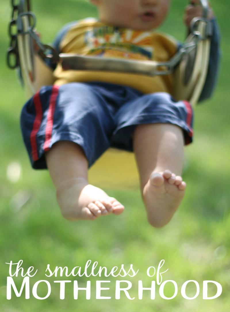the smallness of motherhood