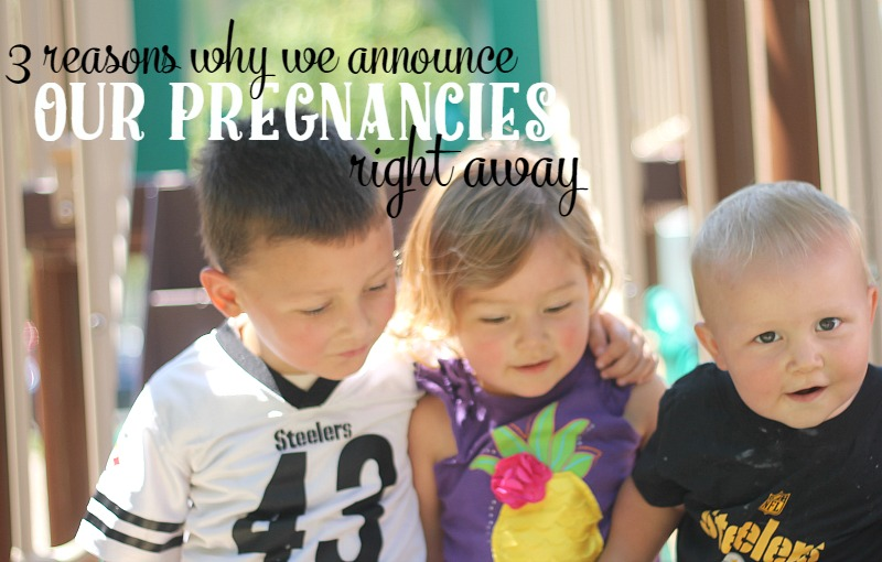 3 reasons why we announce our pregnancies right away