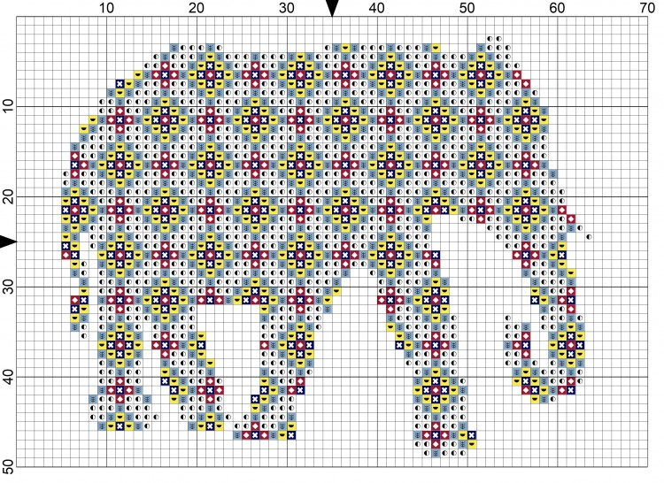 Thailand Inspired Elephant Cross Stitch Patterns Do Small Things