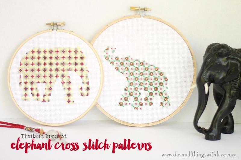 the elephant Happy Forever Cross Stitch Animal