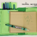 diy travel notebook case