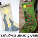 felt Christmas Stocking Patterns from Do Small Things with Love