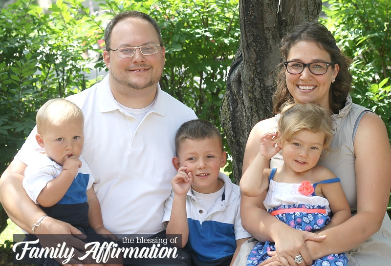 the many blessings of doing family affirmation