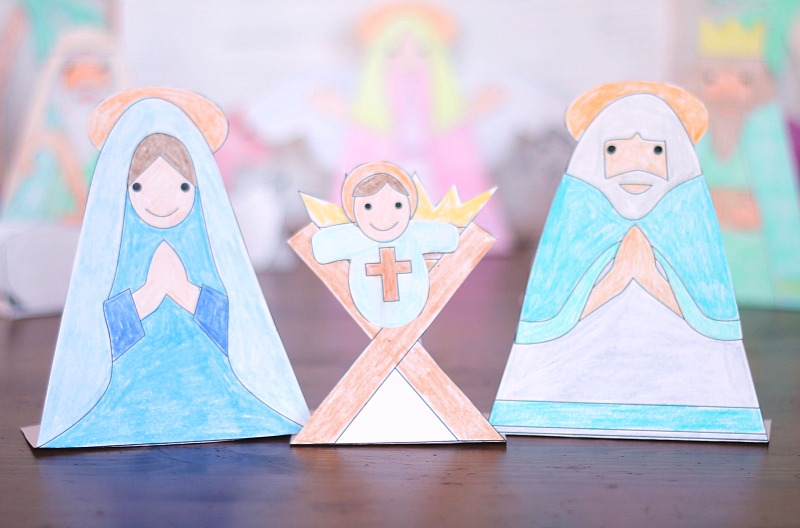 printable holy family