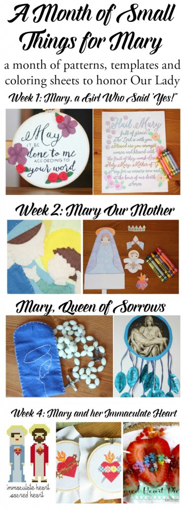 A Month of Small Things for Mary--FREE eBOOK!