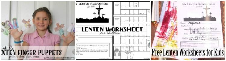 Lenten Bundle for Kids {3 printable activities}