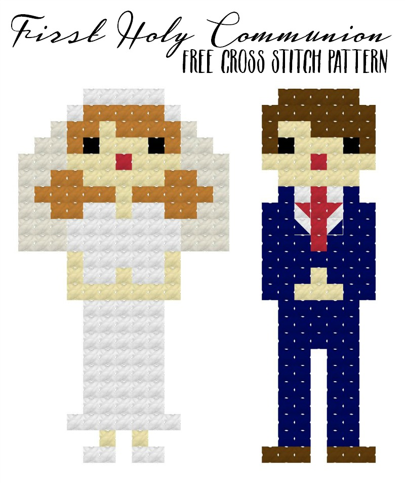 1st Holy Communion Pixel People