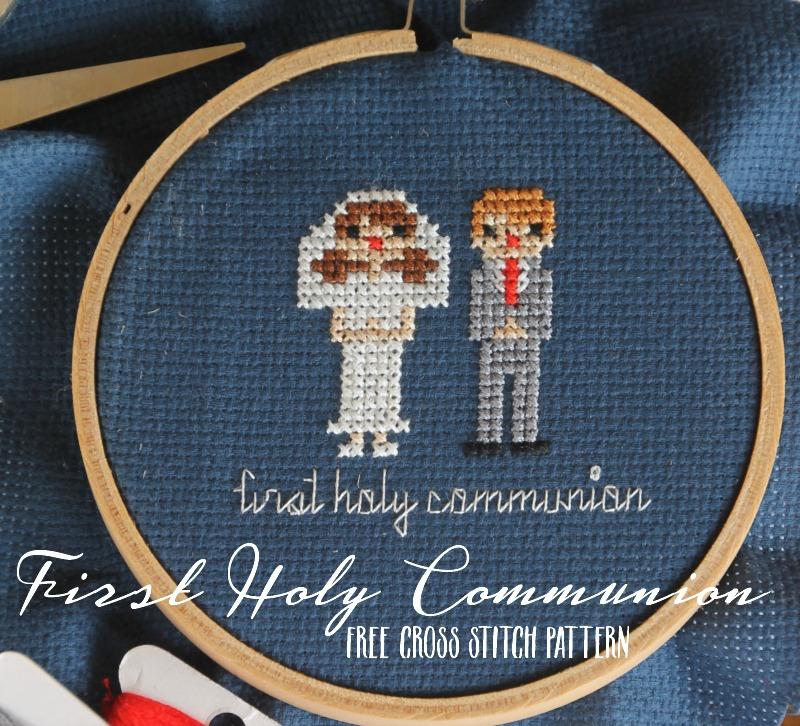 Free First Holy Communion Cross Stitch Patterns Do Small Things