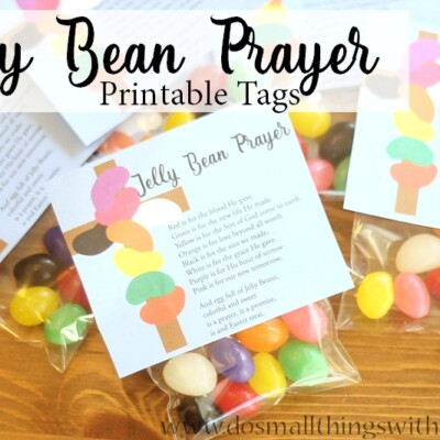 Jelly Bean Prayer–Free Tags for Easter