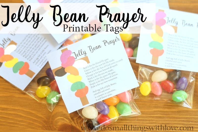 image about Jelly Bean Prayer Printable named Jelly Bean Prayer--No cost Tags for Easter Catholic Sprouts