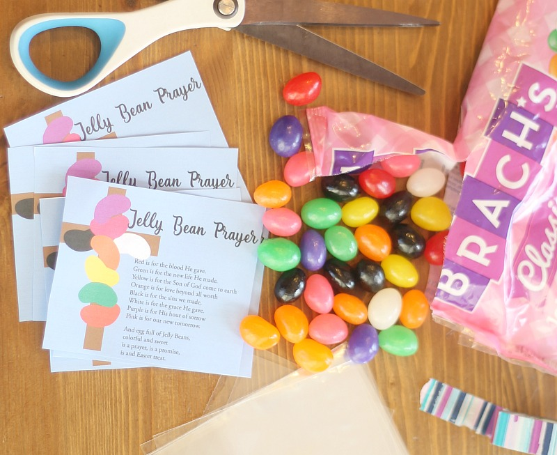 Jelly Bean Prayer Free Tags For Easter Do Small Things