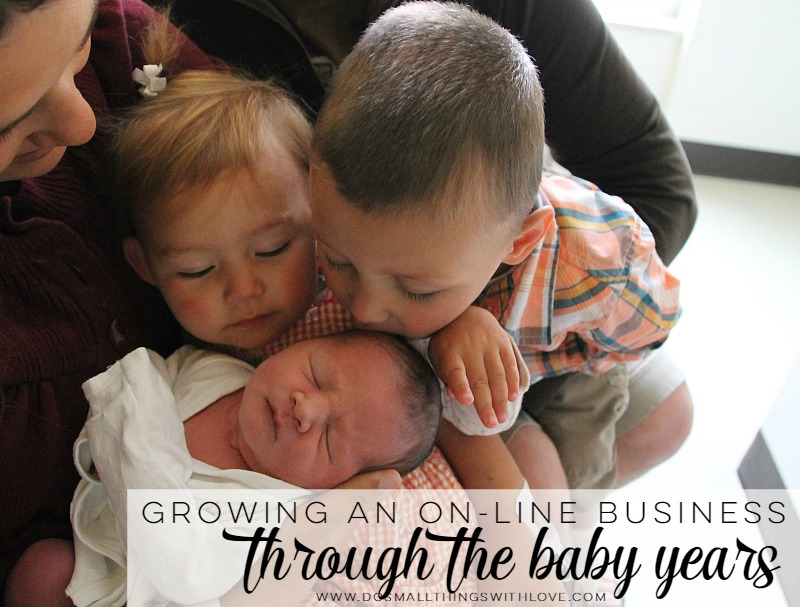Growing and online business through the baby years