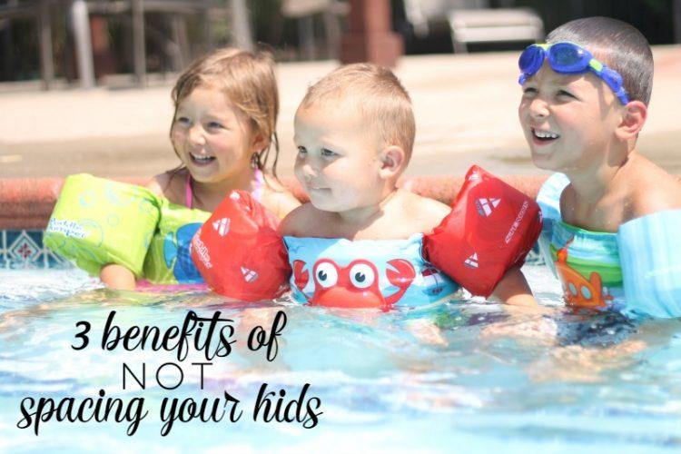 3 Benefits of NOT Spacing Your Kids
