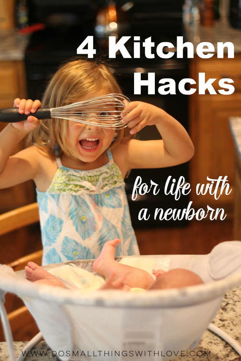 4 Kitchen Hack for life with a newborn