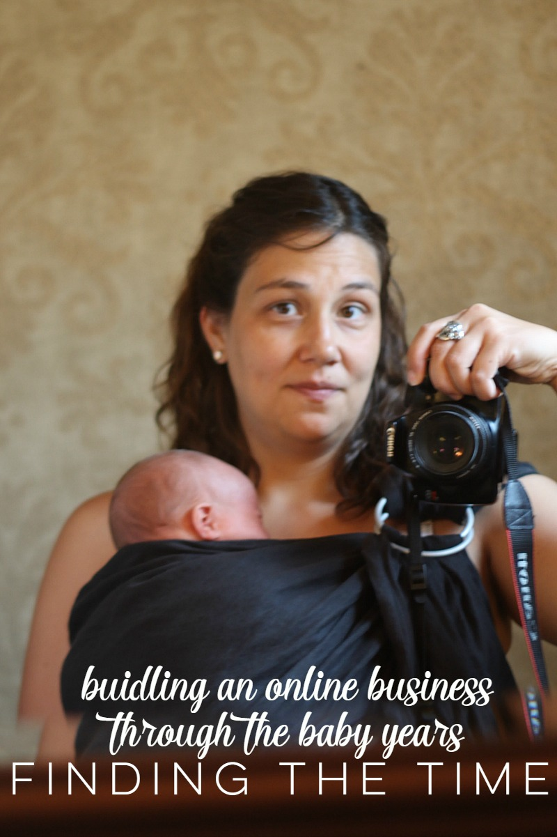 Finding the time to run a business with a new baby