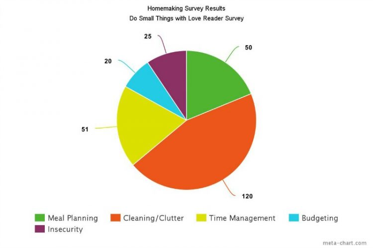 Survey Says: Homemaking Results