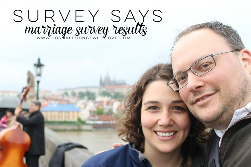 marriage survey results