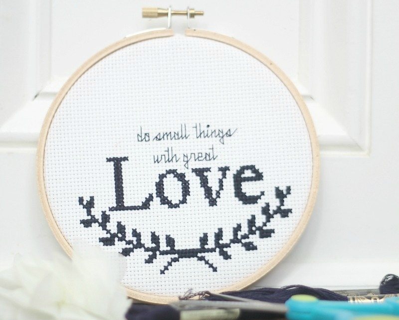 cross stitch pattern for course