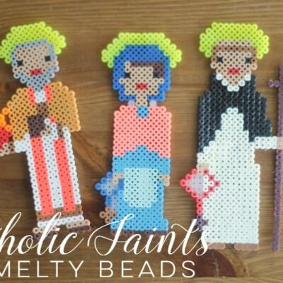 Cathoilc Saints in Perler Bead