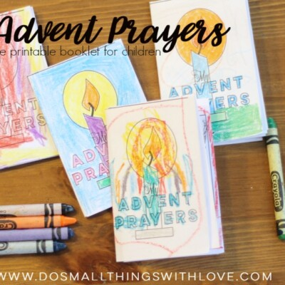 My Advent Prayers: Free Printable Booklet for Children