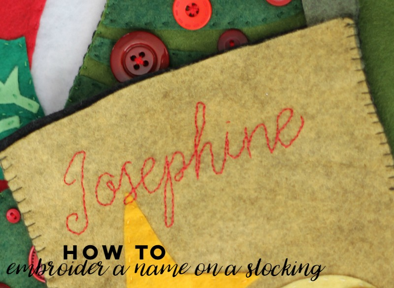 how-to-embroider-a-name-on-a-stocking-step-by-step