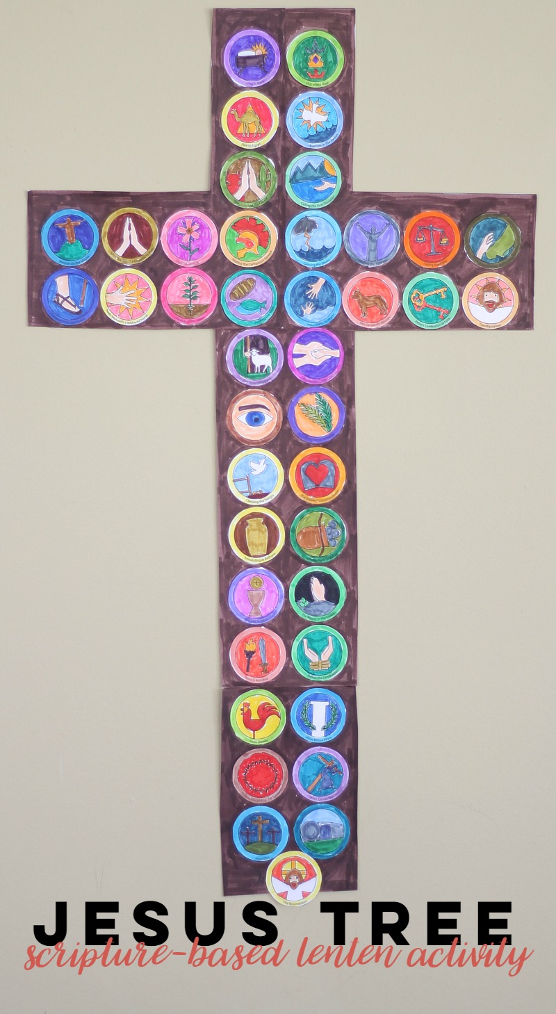The Jesus Tree Lenten Scripture Activity Do Small Things With
