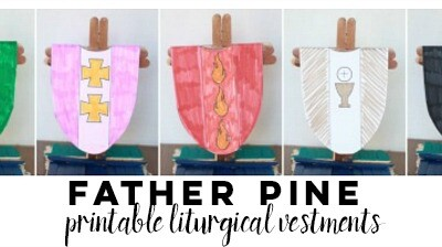"""""""Father Pine"""" Liturgical Activity"""