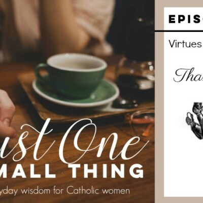 J1ST 057: The Eucharist and Thankfulness