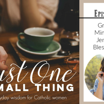 J1ST 071: Building a Ministry with Jenna from Blessed Is She