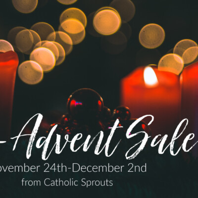 Pre-Advent Sale, November 24th–December 2nd 2019
